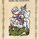 Sant Jordi, patró de Catalunya (any 1972)
