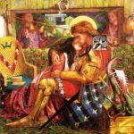 Il matrimonio di San Giorgio e la principessa Sabra (qualunque 1849)