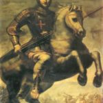 Aparició de Sant Jordi en la batalla d'Alcoraz (qualunque 1700)
