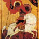 San Jorge y la serpiente (alguna 1500)