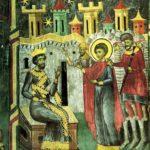 Sant Jordi davant l'emperador (any 1600)