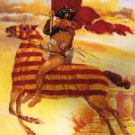 San Jordi abanderado (alguna 1985)