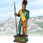 """Sant Jordi """"El Vellet"""" de Banyeres de Mariola (qualunque 1802)"""