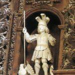 San Jorge allanceja el dragón (alguna 1800)