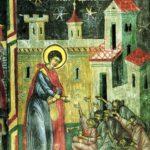 Sant Jordi entre los pobres (alguna 1600)