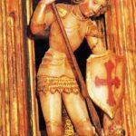 Sant Jordi allancejant el dragó (any 1500)
