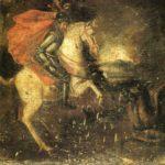 Sant Jordi a cavall contra el dragó (any 1700)