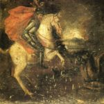 San Jorge a caballo contra el dragón (alguna 1700)