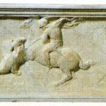 Sant Jordi alliberant la princesa (qualunque 1416)