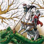 Sant Jordi matant el drac (any 2009)