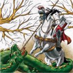 San Jorge matando al dragón (alguna 2009)