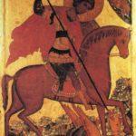 San Jorge matando la serpiente (alguna 1500)