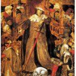 Retaule de Sant Jordi, taula del Judici (qualunque 1430)