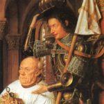 Sant Jordi presentando el comitente (alguna 1436)
