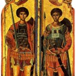 Sant Jordi i Sant Demetri (qualunque 1500)