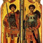 San Jorge y San Demetrio (alguna 1500)