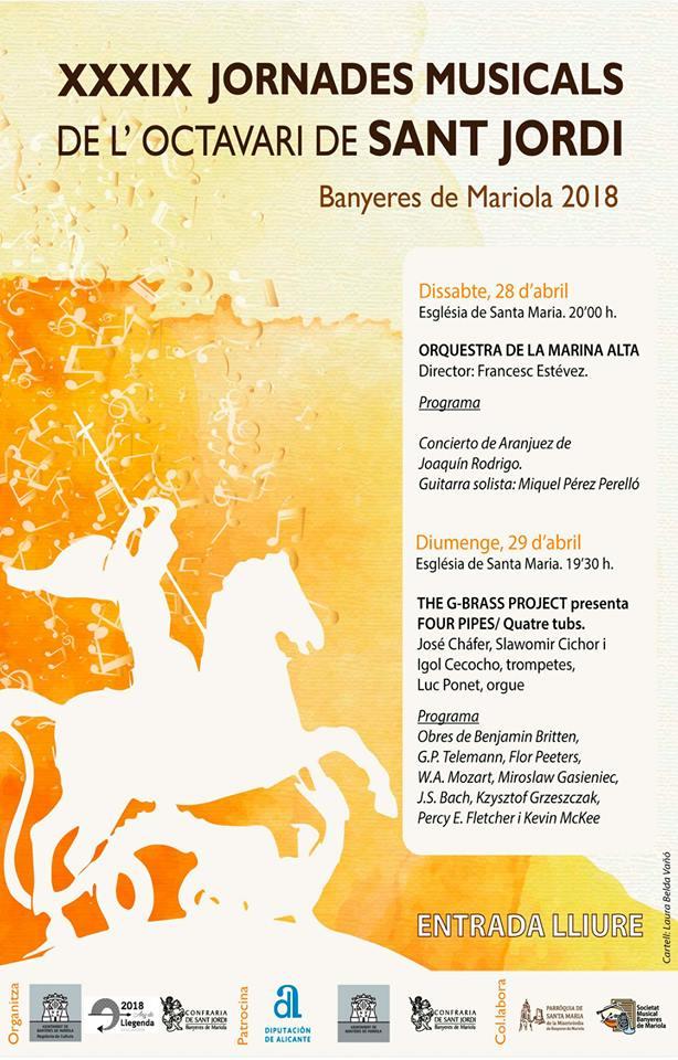 XXXIX Jornades Musicals de l'Octavari de Sant Jordi (2018)