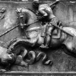 Sant Jordi combatent al drac (qualunque 1551)
