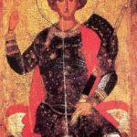 Sant Jordi coronado (alguna 1450)