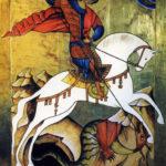 Icono de San Jorge (alguna 1996)