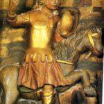 San Jorge a caballo allanceja el dragón (alguna 1700)
