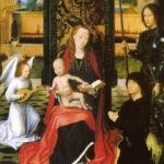 La verge, el donant i Sant Jordi (any 1500)