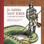 Ja arriba Sant Jordi a Banyeres de Mariola (any 2009)