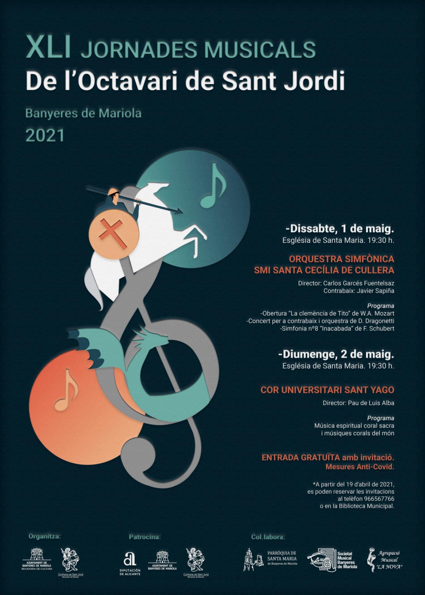 XLI Jornades Musicals de l'Octavari de Sant Jordi (2021)