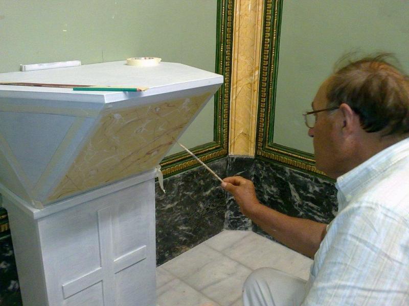 2010-07-21, Decorazione della cappella di San Giorgio