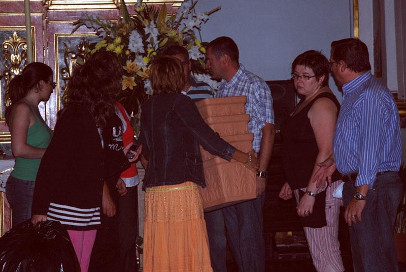 2008-09-08, Preparatius per a les festes de la Relíquia