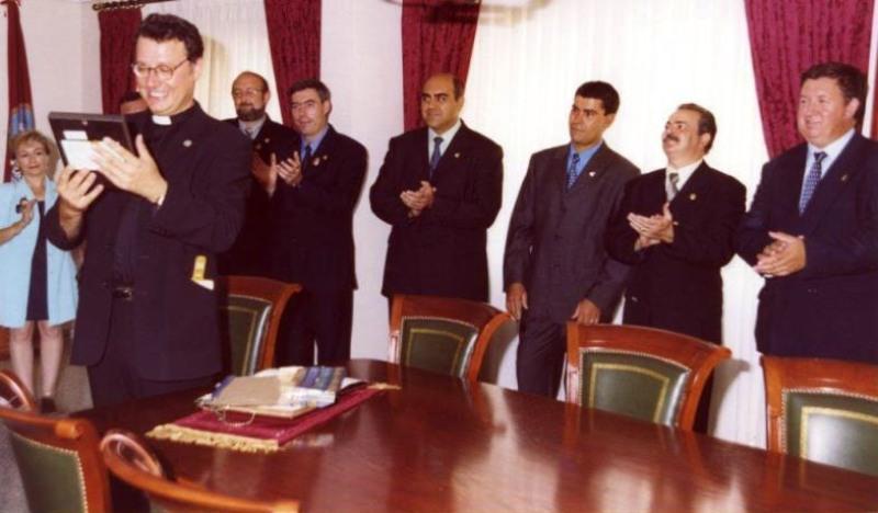2000-09-03, Reception at headquarters