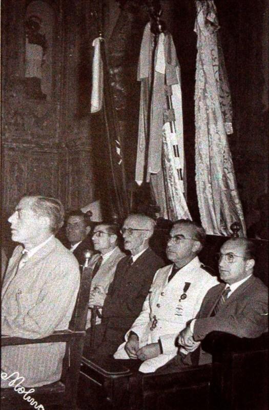 1951-04-23, Masse von St. George