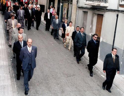2002-09-01, 75 Aniversarí de la proclamació canònica de Sant Jordi com patró de Banyeres