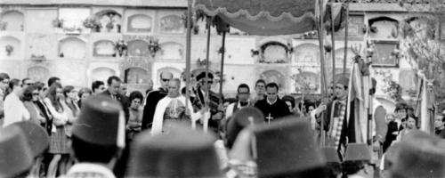 1970-04-25, Misa del cementerio