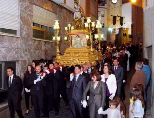 2014-05-03, Trasllat de l'església a l'ermita