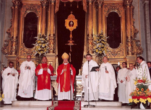 2003-09-07, Missa major de la Relíquia