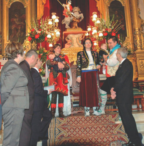 2011-04-30, Ceremony of the story 'Here comes Sant Jordi Mariola'
