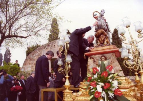 2008-04-21, Trasllat de l'ermita a l'església