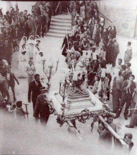 1950-05-22, Processó del Corpus