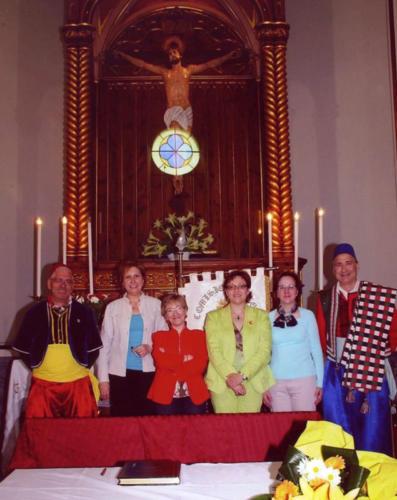 2007-04-25, Signatura al llibre d'or del Sant Crist