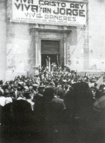 1945-09-02, Missa major de la Relíquia