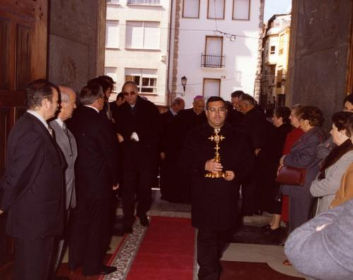 2003-03-09, Blessing of the monument of St. George