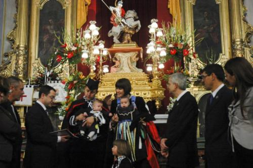 2011-04-30, Acte de lliurament del conte 'Ja arriba Sant Jordi a Banyeres de Mariola'