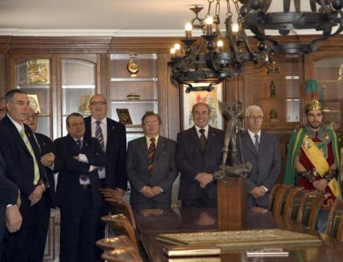 2010-09-05, Reception at headquarters