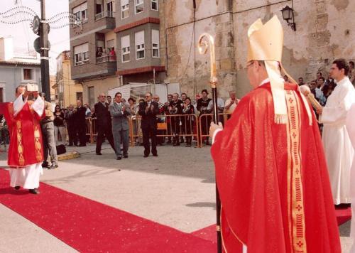 2003-09-07, Arribada de la segona Relíquia de Sant Jordi