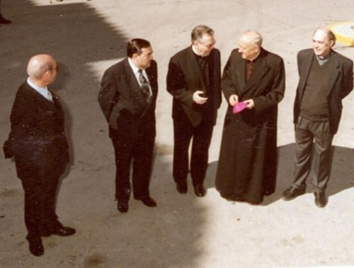 2003-03-09, Segen des Denkmals von St. George