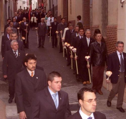 2006-04-21, Trasllat de l'ermita a l'església