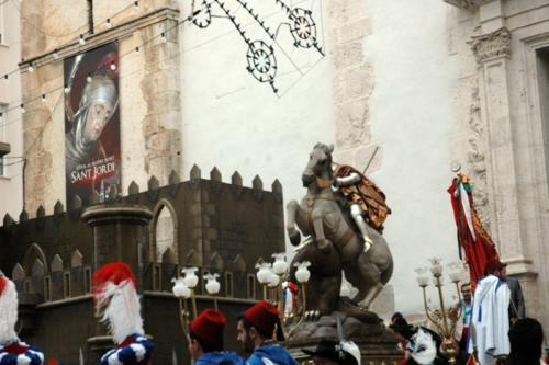 2011-04-30, Preparations for the procession of Saint George