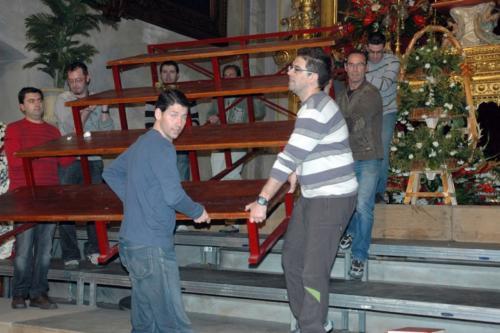 2011-05-06, Preparatius per a les XXXII Jornades Musicals de l'Octavari