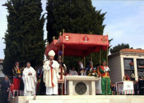 2010-04-25, Missa del cementiri